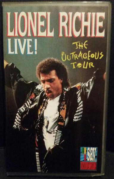 Lionel Richie - The Outrageous Tour Live! - VideoPAL