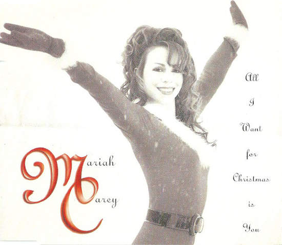 Mariah Carey - All I Want For Christmas Is You CD