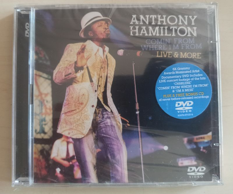 ANTHONY HAMILTON - Comin' From Where I'm From, Live & More - DVD + CD