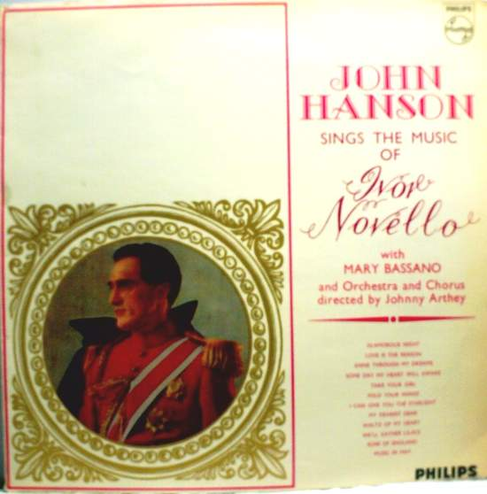 Hanson, john With Bassano, mary - Sings The Music Of Ivor Novello