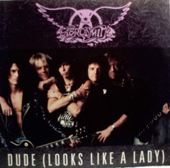 "Aerosmith - Dude (looks Like A Lady) - 12"" PS"