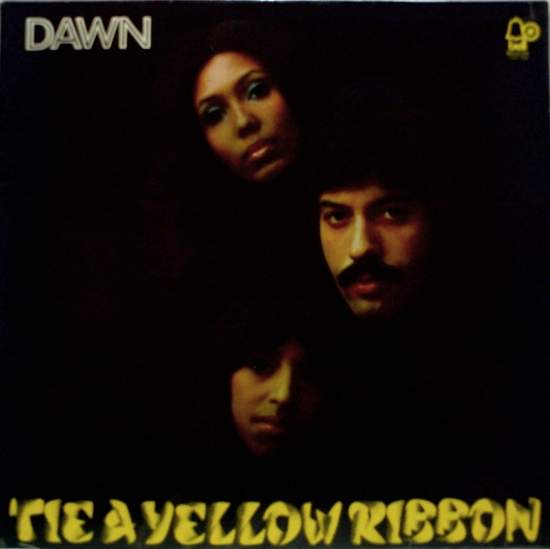 Dawn Featuring Tony Orlando - Tie A Yellow Ribbon - LP