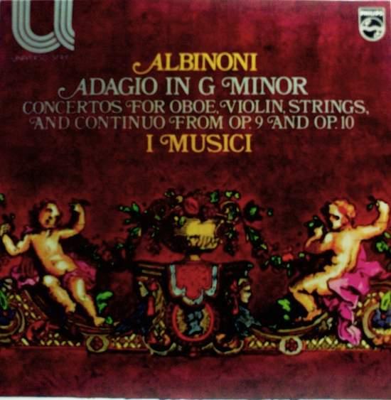 Tomaso,albinoni I Musica - Adagio In G Minor - LP