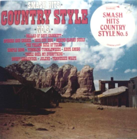 Various Artists - Smash Hits Country Style No. 5 - LP