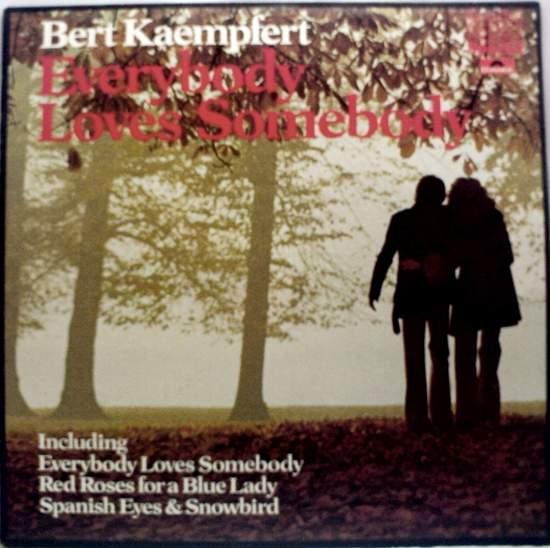 Kaempfert,bert & His Orchestra - Everybody Loves Somebody - LP