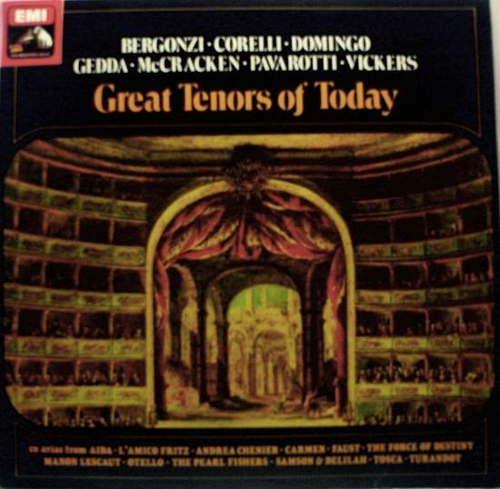 Various Artists - Great Tenors Of Today - LP