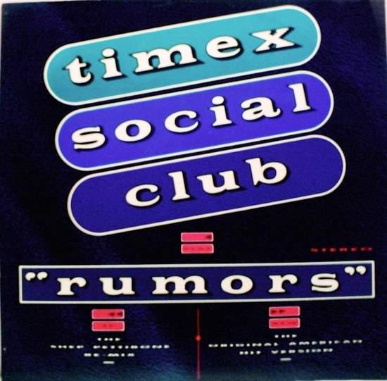 """Timex Social Club - Rumors - 12"""" PS"""