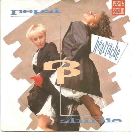 """Pepsi & Shirlie - Heartache - 7"""" PS"""