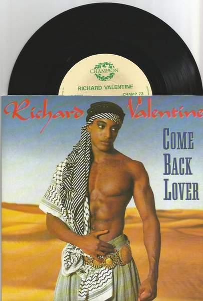 "Valentine,richard - Come Back Lover - 7"" PS"