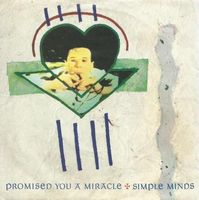 "Simple Minds - Promised You A Miracle - 7"" PS"