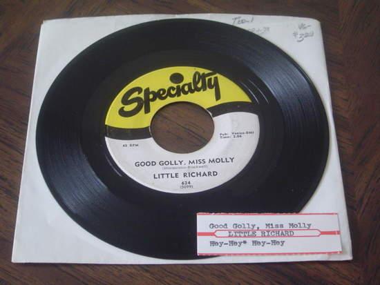 "Little Richard - Good Golly Miss Molly / Hey Hey Hey Hey - 7"""