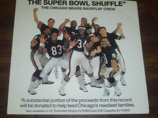 Chicago Bears Shufflin' Crew - The Super Bowl Shuffle Record