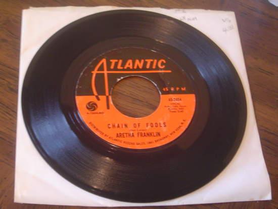 """Aretha Franklin - Chain Of Fools / Prove It - 7"""""""