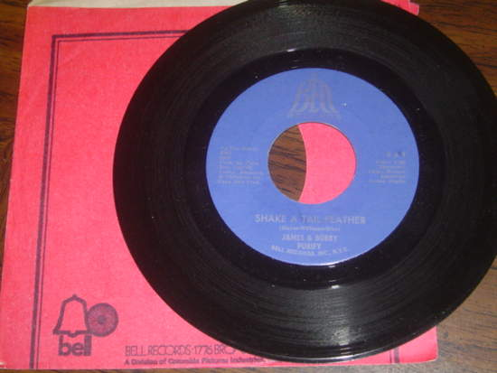 """James & Bobby Purify - Shake A Tail Feather / Goodness Gracious - 7"""""""