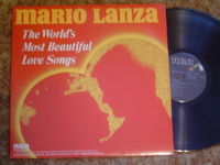 Mario Lanza - The World's Most Beautiful Love Songs - LP
