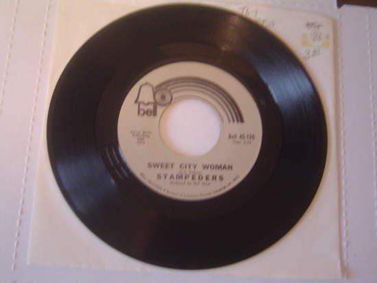 Stampeders - Sweet City Woman / Gator Road Record