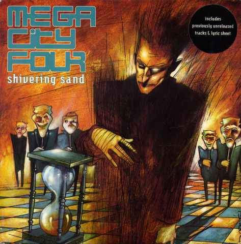 """Mega City Four - Shivering Sand - 7"""" PS"""