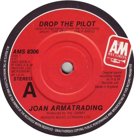 "Armatrading,joan - Drop The Pilot - 7"""