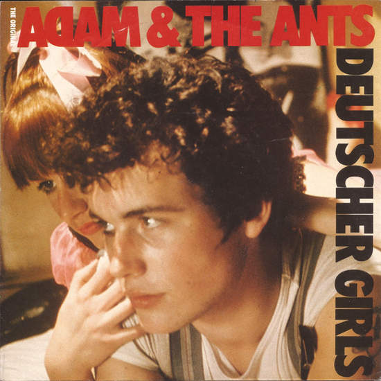 "Adam & The Ants - Deutscher Girls - 7"" PS"