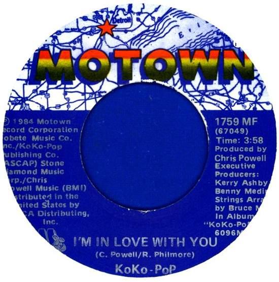 Koko-pop - I'm In Love With You - Usa Single - 45