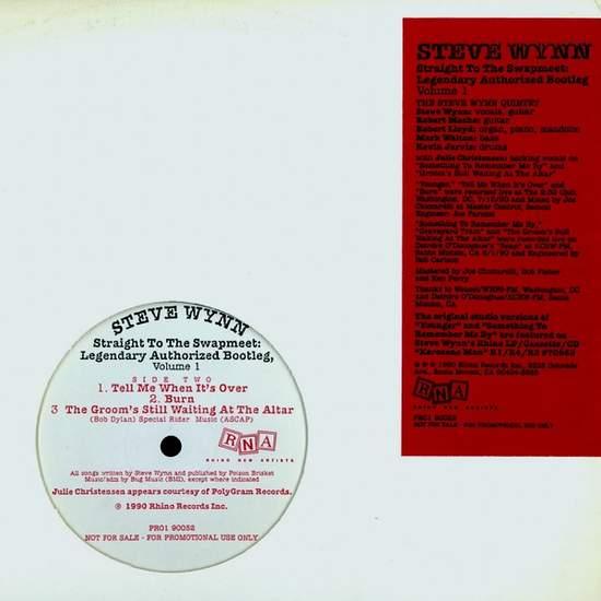Steve Wynn - Straight To The Swapmeet - Usa Promo Lp - LP