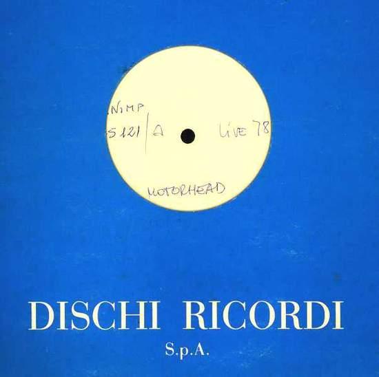 Motörhead - Live 78 - Italian W/l Test Pressing Lp - LP