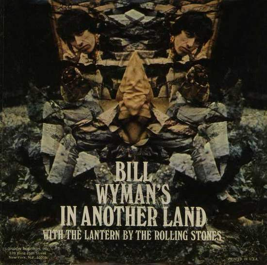 "Bill Wyman - In Another Land - Usa Ps Single - 7"" PS"