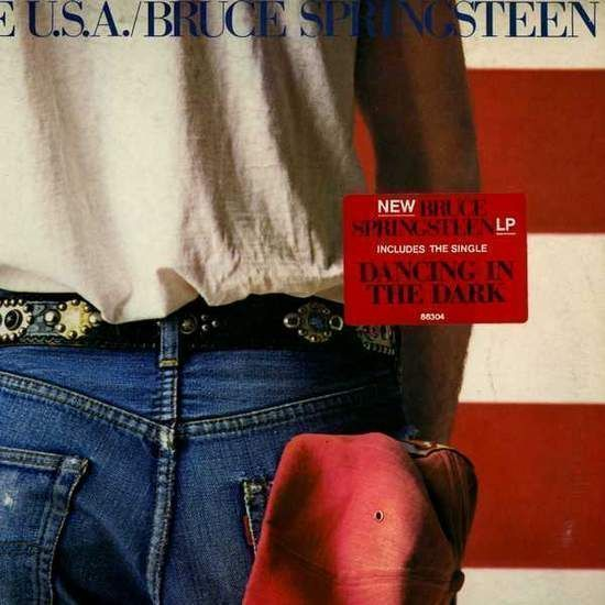 Bruce Springsteen - Born In The U.s.a. - Holland Lp, Inserts And Sticker