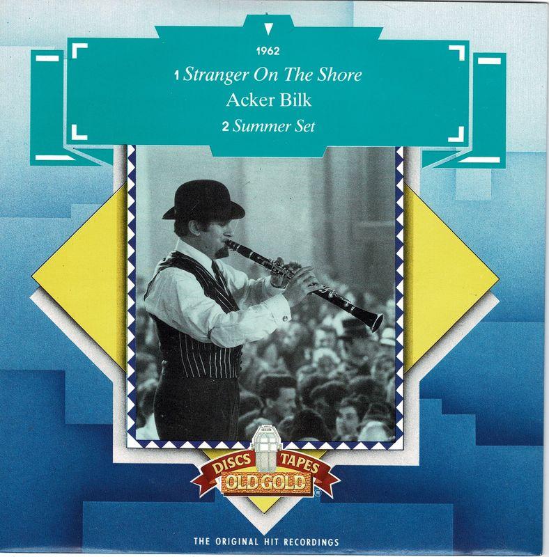 """Acker Bilk - Stranger On The Shore - 7"""""""