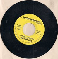 Four Lads - Moments To Remember / No Not Much - 45