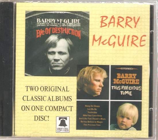 Mcguire, barry - Eve Of Destruction & This Precious Time