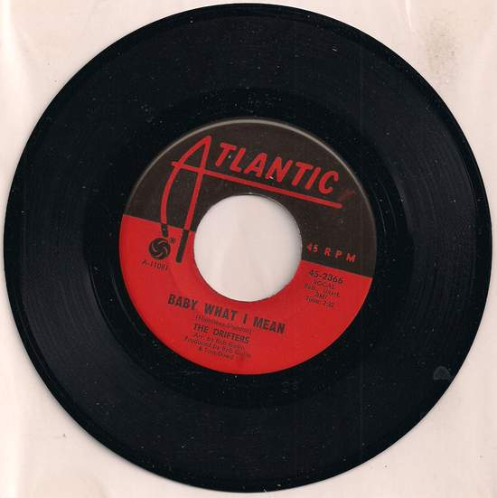 Drifters - Baby What I Mean/aretha - 45