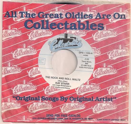 Starr,kay - Rock And Roll Waltz/my Heart Reminds Me - 45