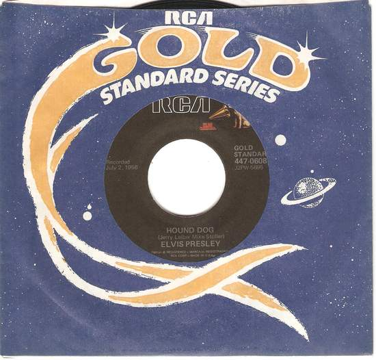 Presley,elvis - Houndog/don't Be Cruel - 45