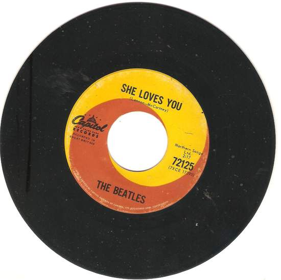 Beatles - She Loves You/i'll Get You - 45