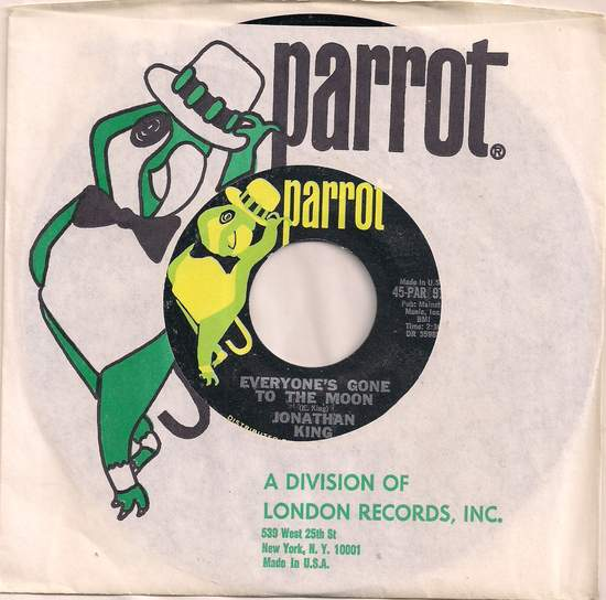 King,jonathan - Everyone's Gone To The Moon/summer's Coming - 45