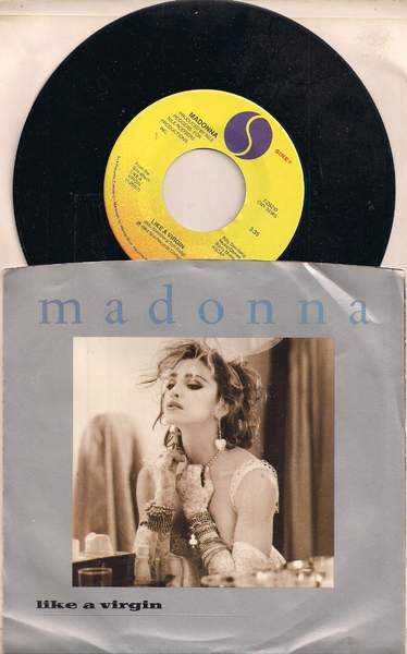 Madonna - Like A Virgin / Stay - 45