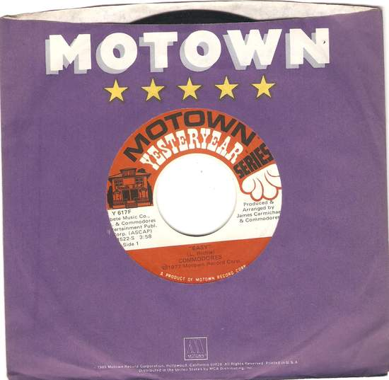 Commodores - Easy / Brick House - 45