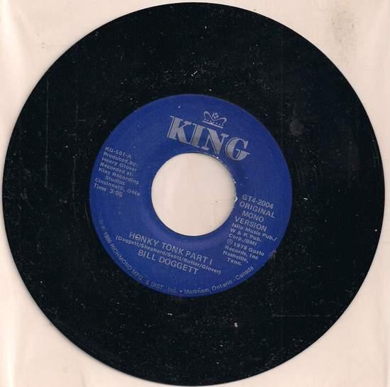 Doggett,bill - Honky Tonk, Pt.1 / Honky Tonk, Pt.2 - 45