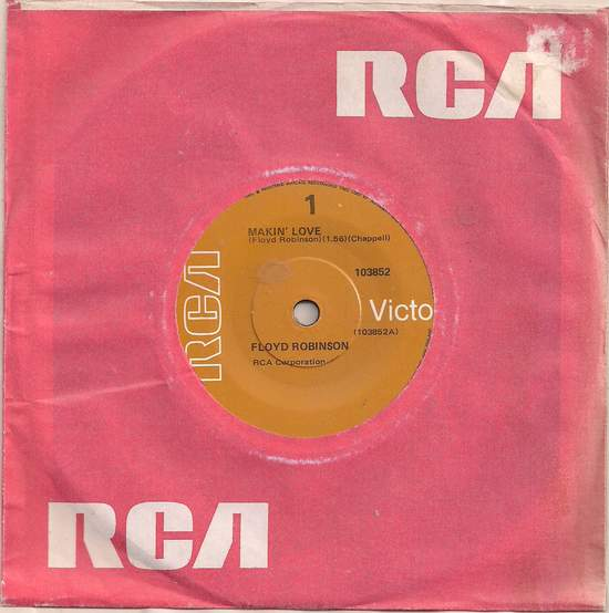 Robinson,floyd - Makin' Love / Out Of Gas - 45