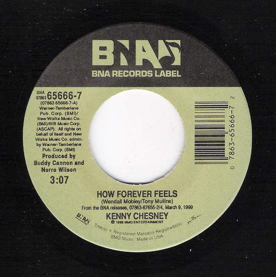 Kenny Chesney - How Forever Feels / You Win, I Win, We Lose - 45