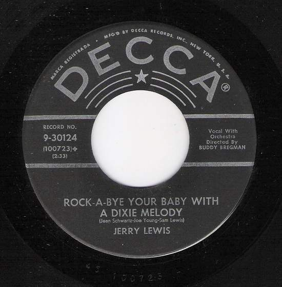 Rock A Bye Your Baby With A Dixie Melody