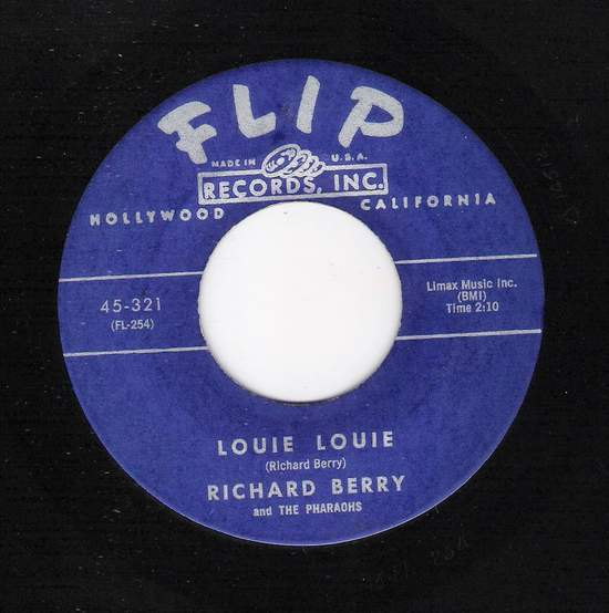 Richard Berry & The Pharaohs - Louie Louie / Rock Rock Rock - 45