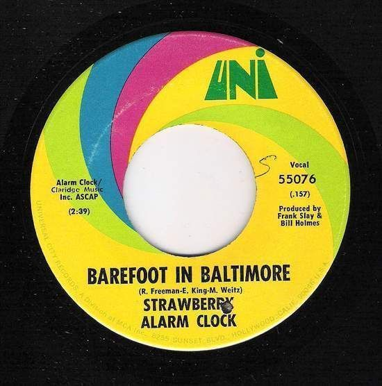 Strawberry Alarm Clock - Barefoot In Baltimore / An Angry Young Man
