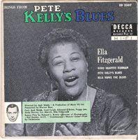 "Ella Fitzgerald - Pete Kelly's Blues - 7"" PS"