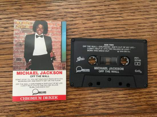 Jackson,michael - Off The Wall - Cassette