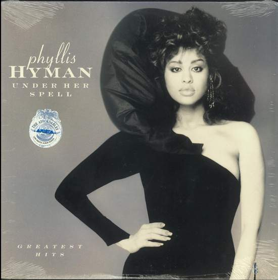 Phyllis Hyman - Under Her Spell - Greatest Hits - LP
