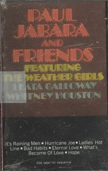 Paul Jabara Featuring The Weather Girls - Paul Jabara And Friends - Cassette