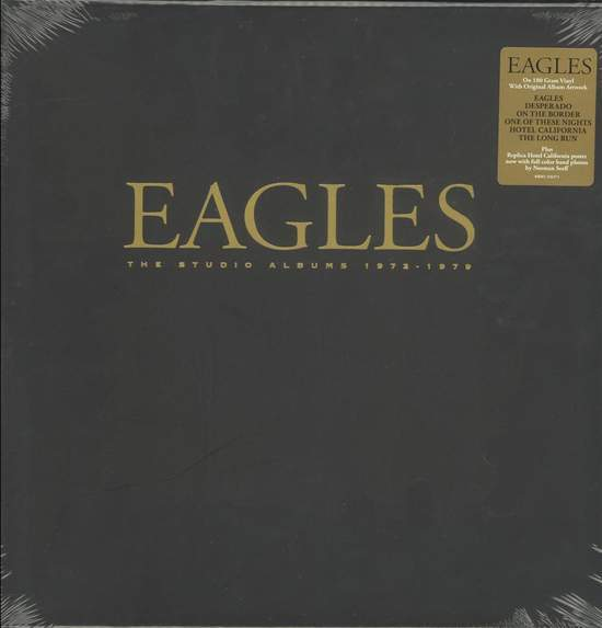 Eagles - The Studio Albums 1972-1979 - LP Box Set