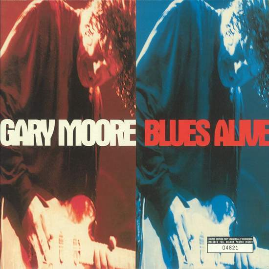 Gary Moore - Blues Alive - 2LP